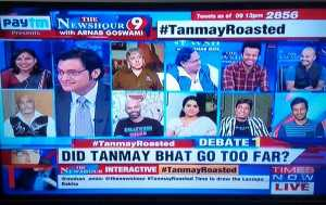 The Roaster Got Roasted - Tanmay Bhat Controversy
