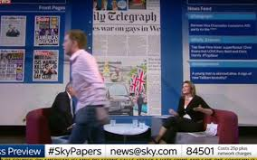 Writer of Guardian, Owen Jones, Walks Off During Orlando DiscussionWriter of Guardian, Owen Jones, Walks Off During Orlando Discussion