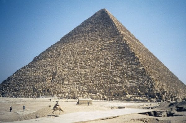 Why did the Egyptians build Pyramids? 1