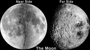 sides of moon