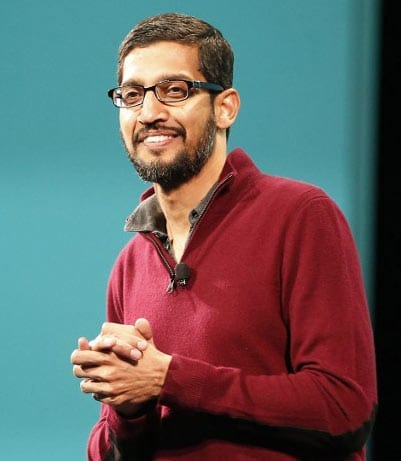 Sundar Pichai and 4 Other Indians Receive 'Pride Of America' Award sundar pichai