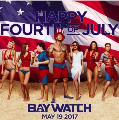 Indian Beauty on Baywatch Poster 4
