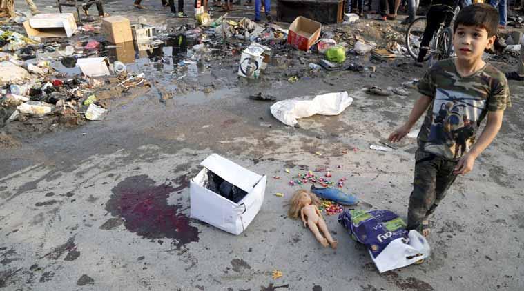 Baghdad Bomb Blast Kills 125 Ramadan Shoppers! bomb