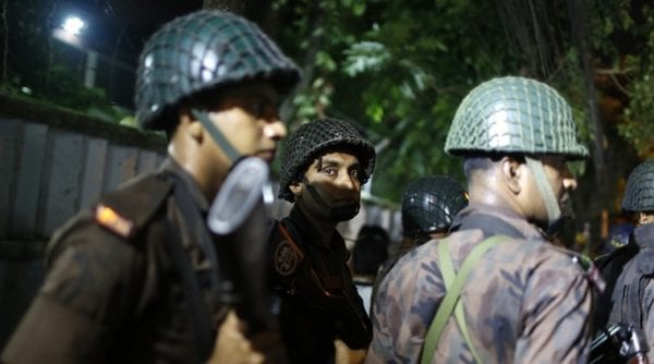Gunmen Attack A Cafe in the Bangladesh Capital Dhaka! bangladesh