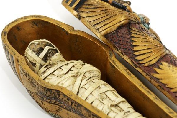 The Indian man Mr Shah Restored a 4,500 year old Mummy mummy