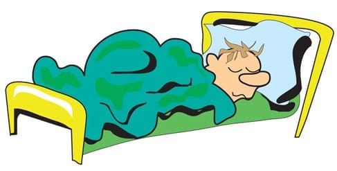 person-sleeping