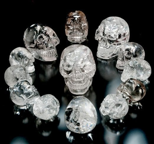 The Mystery Of The Crystal Skulls skull