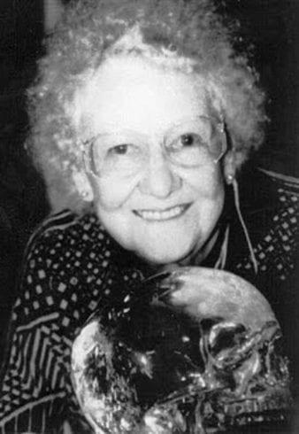 Anna Mitchell Hedges.