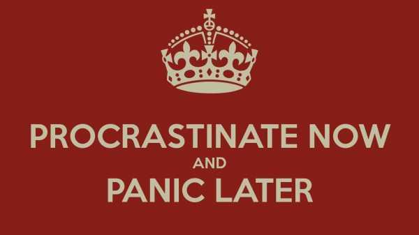 Ways People Procrastinate 14