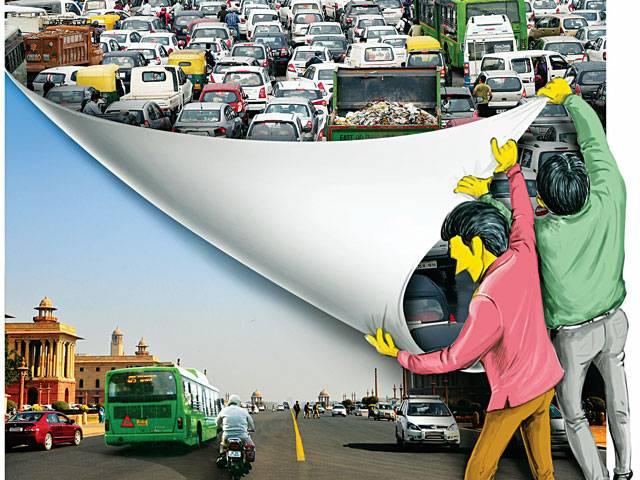 Delhi pollution: Mission Pollution-Free Delhi Delhi pollution
