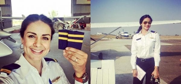 Gul Panag adds another icing on the cake, becomes a pilot gul panag
