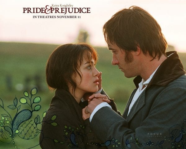 Image result for pride and prejudice love stories