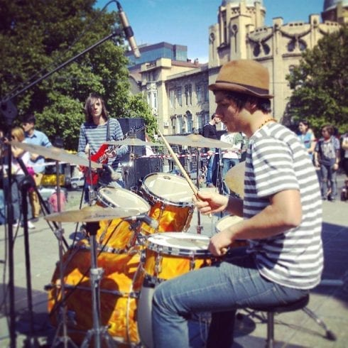 Image result for drummers on the streets