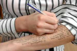 sleeves cheating in exams