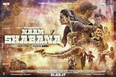 Naam Shabana: Boring, Predictable and a Drag.