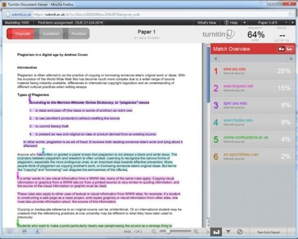 TurnItIn: How Does it Work for University Students 4