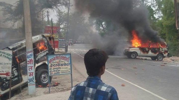 Junior Doctors Rampage in Muzzafarpur, Bihar