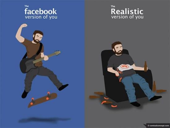 Virtual Life Vs. Real Life