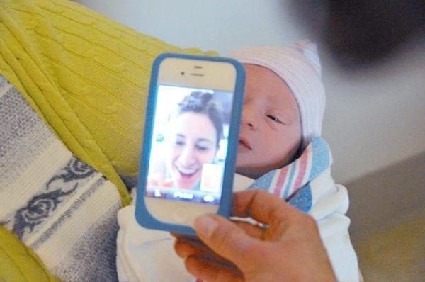 newborn-baby-max-facetime