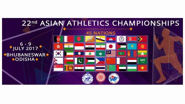 India Opens With A Bang In The 22nd Asian Athletics Championships athletics