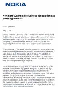 Nokia-Xiaomi In Talks For Collaboration 5