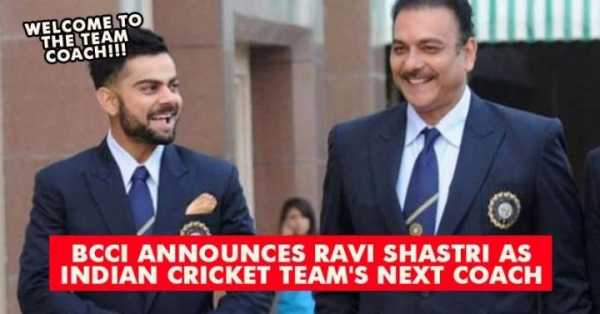 Ravi Shastri Appointed Head Coach Of Indian National Cricket Team 21