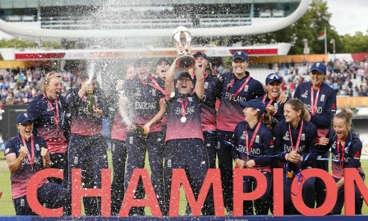 England Beat India To Win Their Fourth Women's World Cup Title world cup