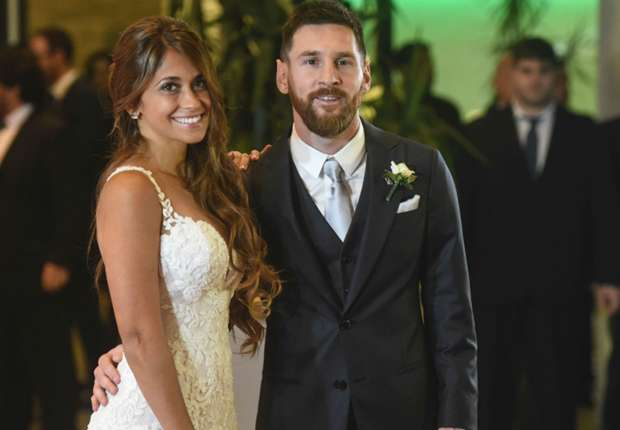 Lionel Messi ties the knot with Antonella