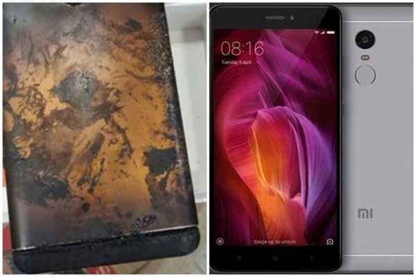 Forged News : The Phone That Flared Up Was Not A Xiaomi Note 4 4