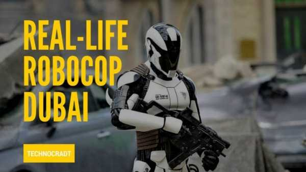World's First Robocop Makes Its Debut In Dubai 9