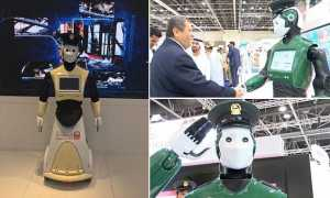 World's First Robocop Makes Its Debut In Dubai 3