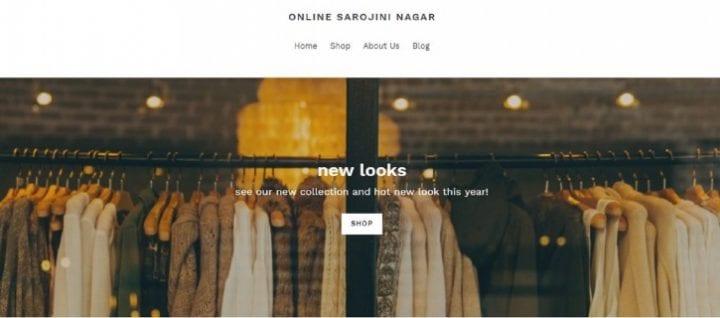 The Sarojini Nagar Market Goes Online! sarojini