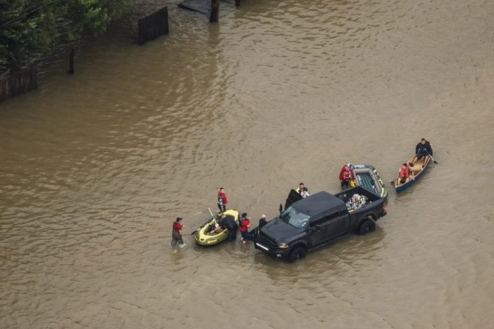 Texas Flooded, US Government Continues Rescue Operation 5