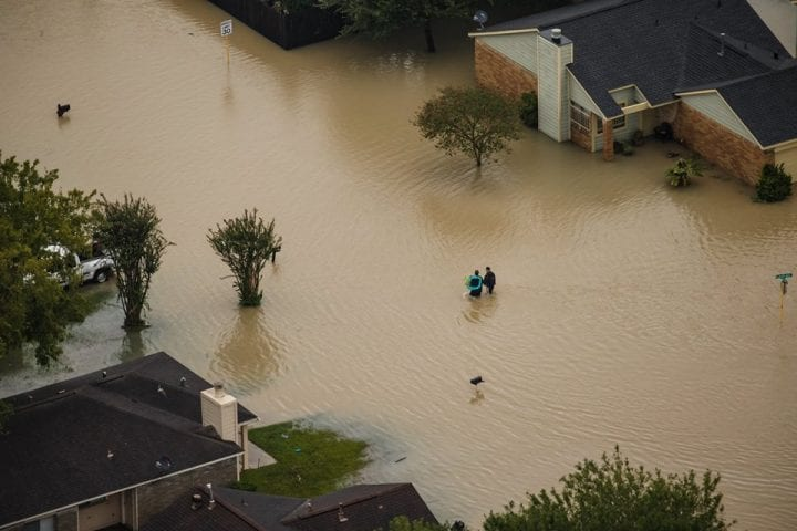 Texas Flooded, US Government Continues Rescue Operation 3