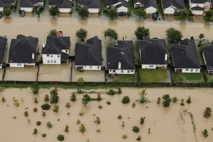 Texas Flooded, US Government Continues Rescue Operation 9