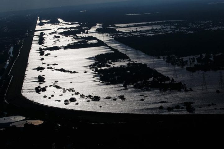 Texas Flooded, US Government Continues Rescue Operation 12