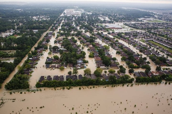 Texas Flooded, US Government Continues Rescue Operation 11
