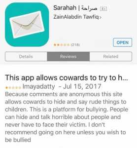 The Sarahah Outbreak: Feedback App Takes Social Media By Storm 6