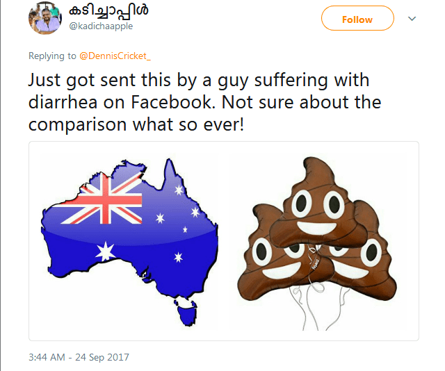 Australian Journalist Roasted After He Compared India's Map To Women's Underpants 10