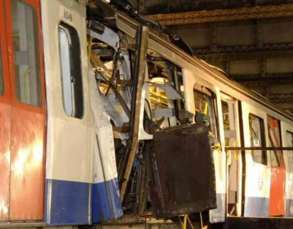 Parsons Underground Station,London Bombed 16