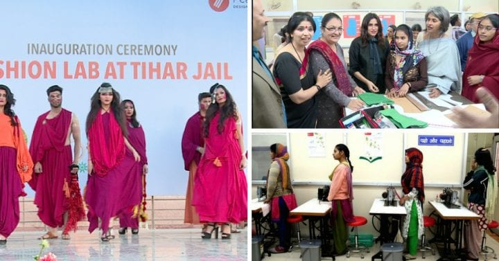 New Delhi's Latest Fashion Show With Designs From Tihar fashion