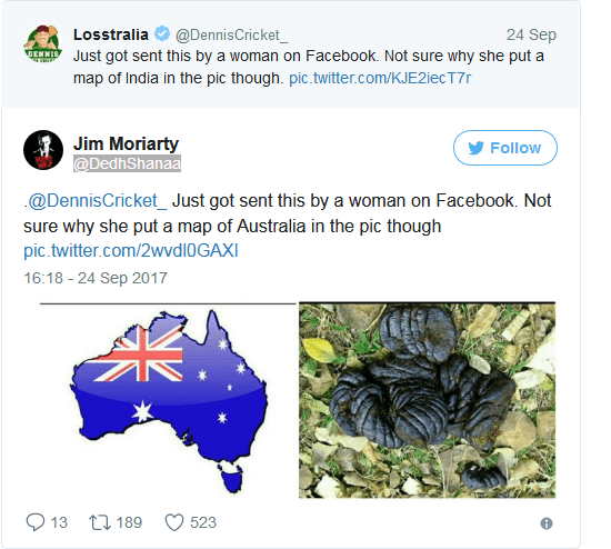 Australian Journalist Got Roasted Mercilessly On Twitter After He Compared India's Map To Women's Underpants 2