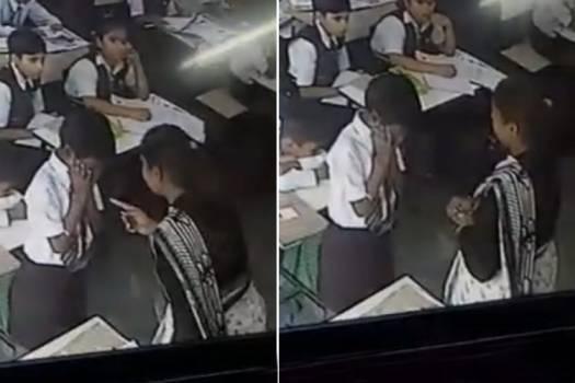 Lucknow Teacher Slaps Student For Not Responding To Roll-Call 1