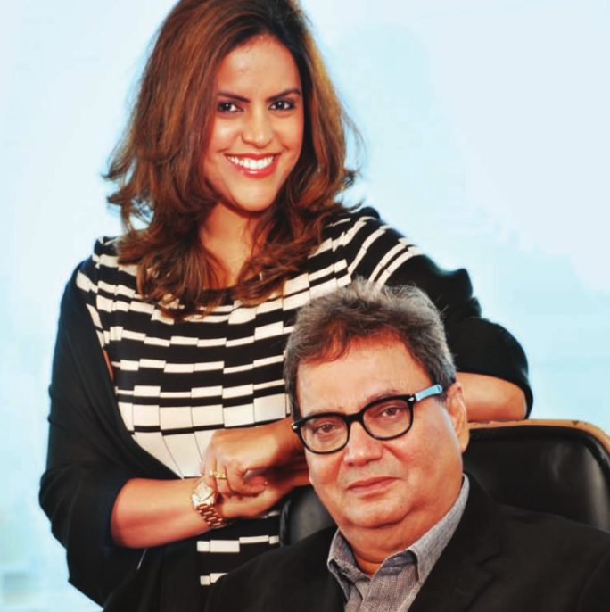 Image result for subhash ghai meghna ghai adoption