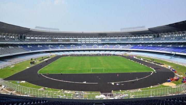 Kolkata's Salt Lake Stadium All Geared Up For The FIFA U-17 World Cup fifa