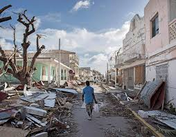 Houses destroyed by Irma