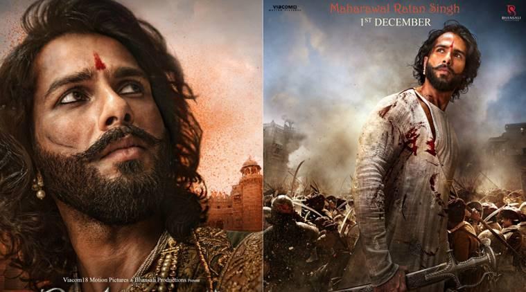 Shahid Kapoor Is Looking Drop Dead Handsome In Padmavati's New Poster padmavati