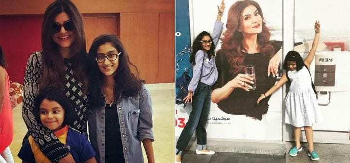 Image result for sushmita sen daughters adoption