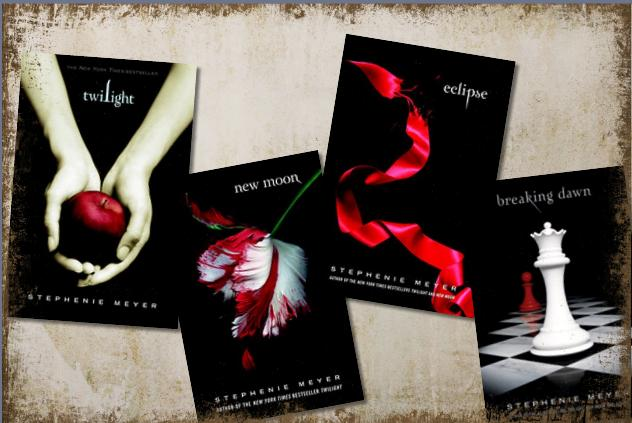 Image result for the twilight saga book books