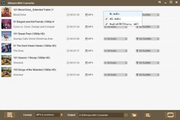 Enjoy iTunes Content with DRM M4V Converter for Windows 6